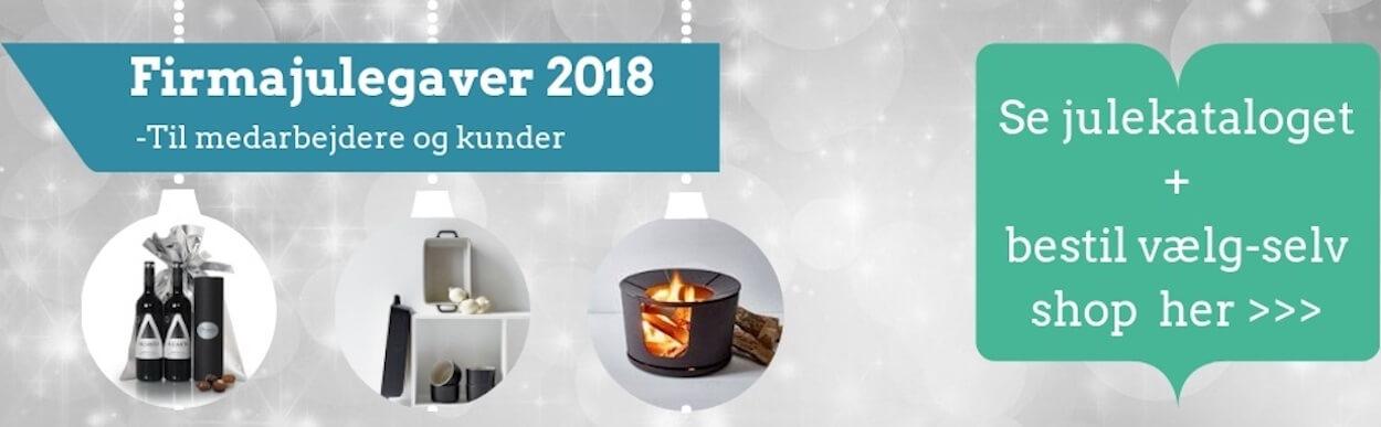 Læs om Firmajulegaver 2018 og vælg selv gaveshop med firmagaver