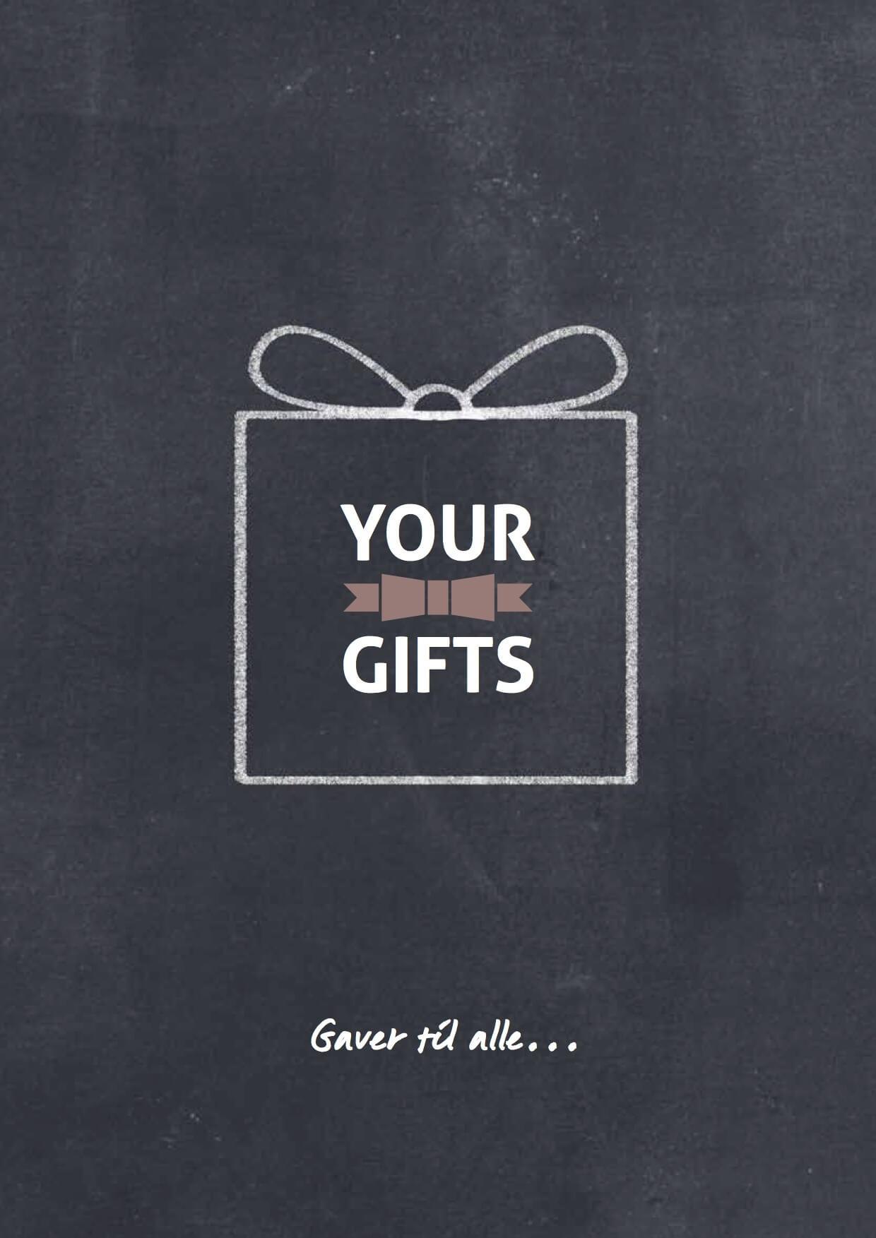 Your Gifts katalog