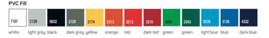 Refleks indholdfarve
